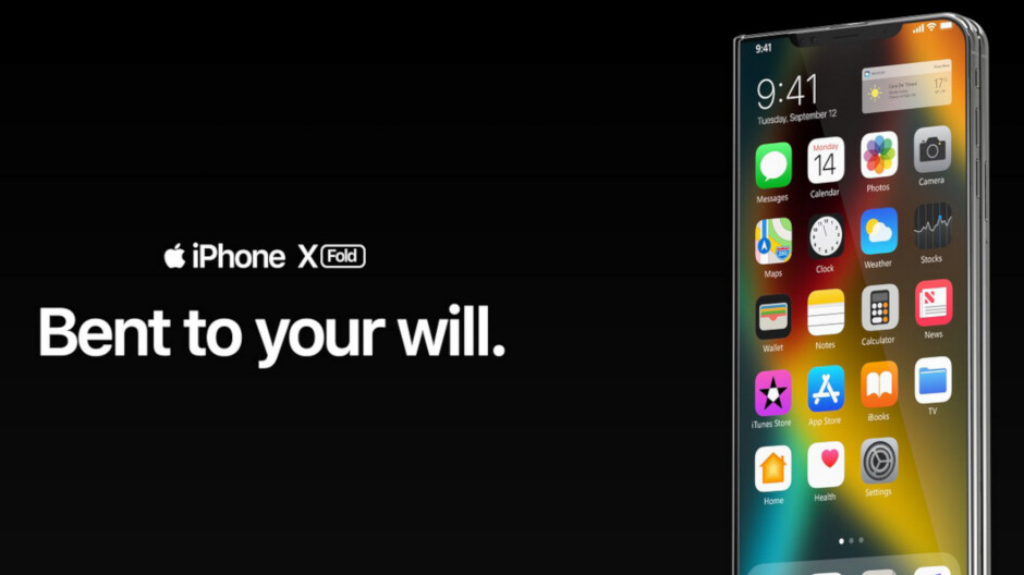 a7cda8ca523 Video shows gorgeous foldable Apple iPhone concept - PhoneArena