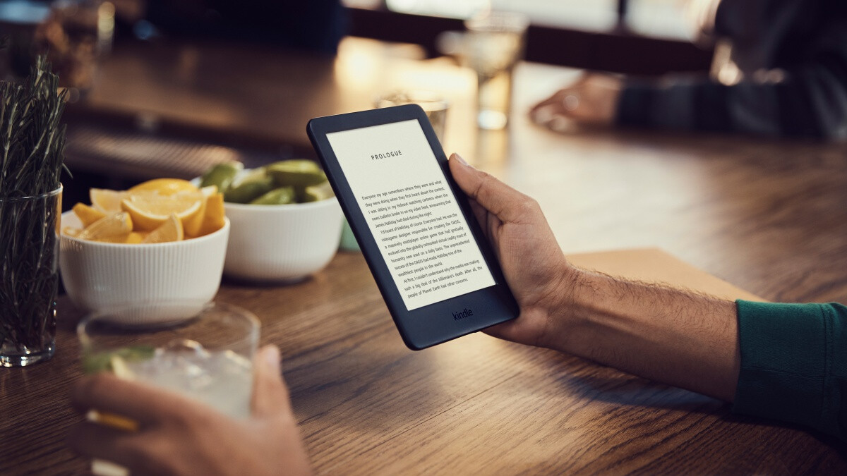 Amazon Launches New Kindle With Adjustable Light