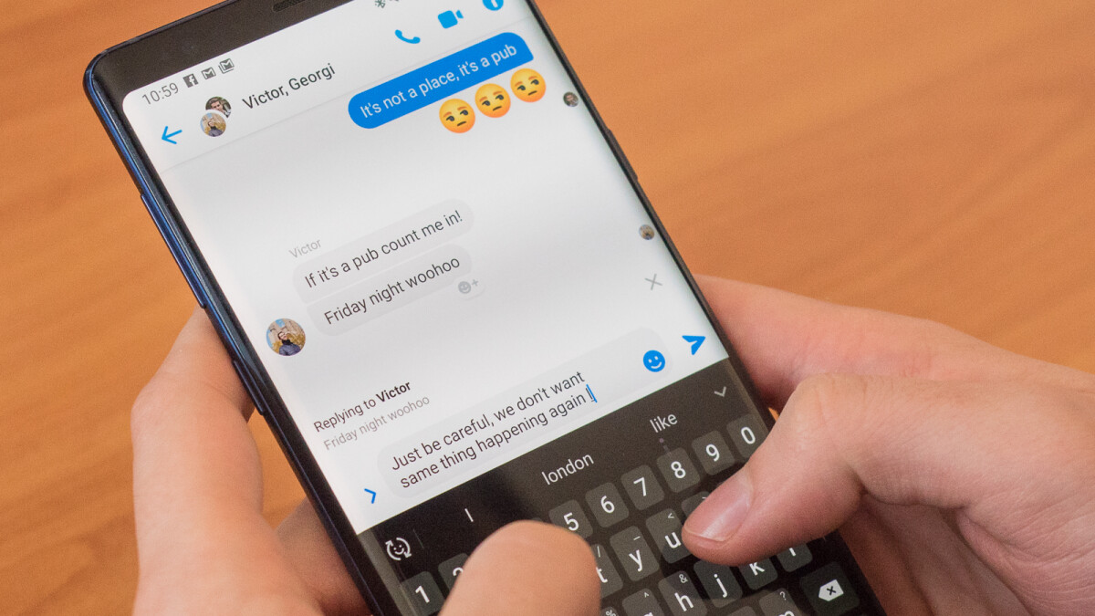 Facebook Messenger takes a page out of WhatsApp's playbook with individual message replies