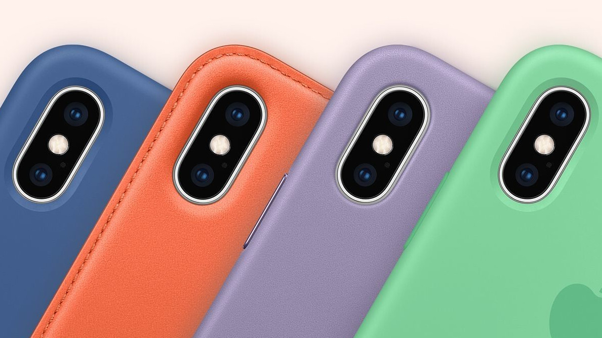 These are the new iPhone cases' spring colors, matching Apple Watch bands in tow