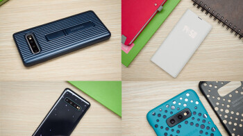 Galaxy S10, S10 Plus & S10e official cases review: leather, silicone, rugged, LED, folio