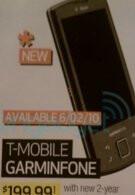 T-Mobile's Garminfone landing in stores on June 2?