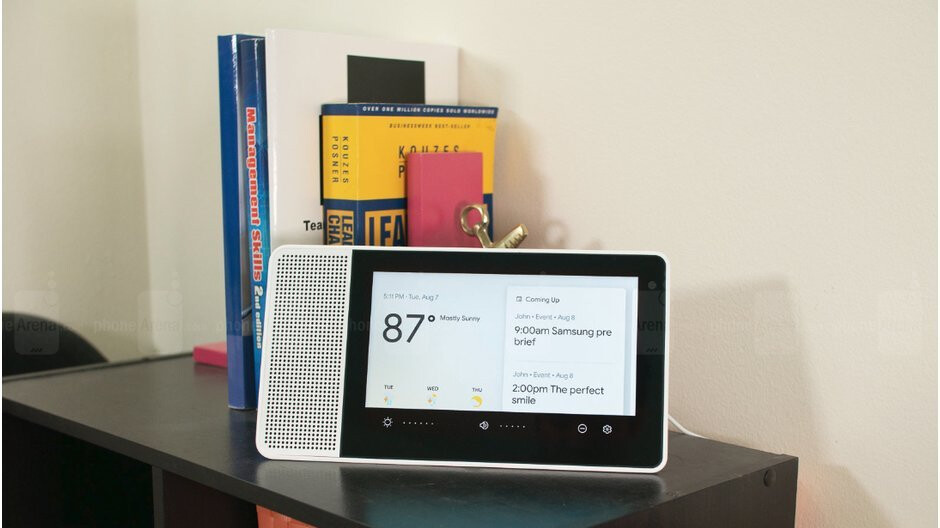 Google Assistant-powered 8