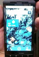 Motorola DROID SHADOW found in Gym?