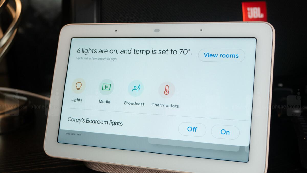 Google leaks its Nest Hub Max smart home device