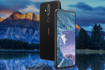 Meet the Nokia X71, a triple-camera smartphone that also has a display hole