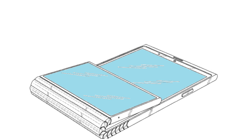 Lenovo patents a foldable phone with a cool second screen that folds from the back