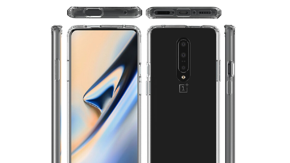 OnePlus 7 design revealed by case renders