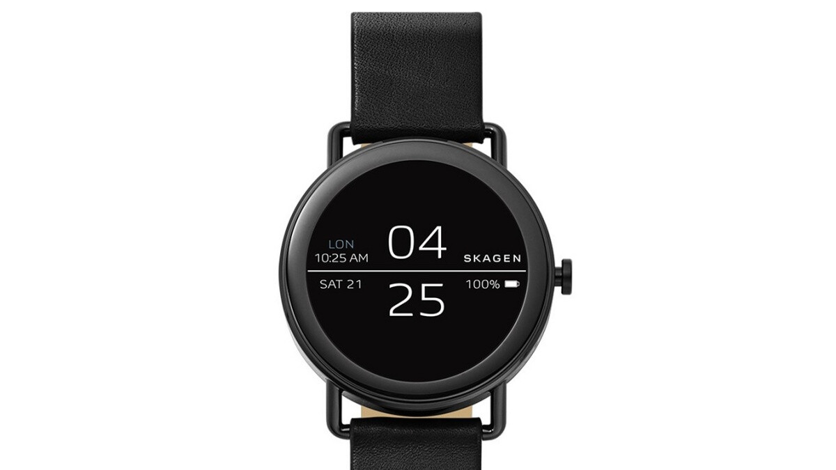 Skagen's stylish Apple Watch rival is on sale for just $100 ($175 off list)