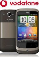 Vodafone UK is also getting in with the HTC Wildfire
