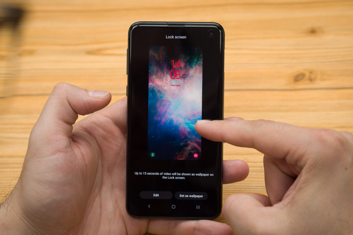 How To Set A Video Lockscreen On The Galaxy S10 S10 Or S10e Phonearena