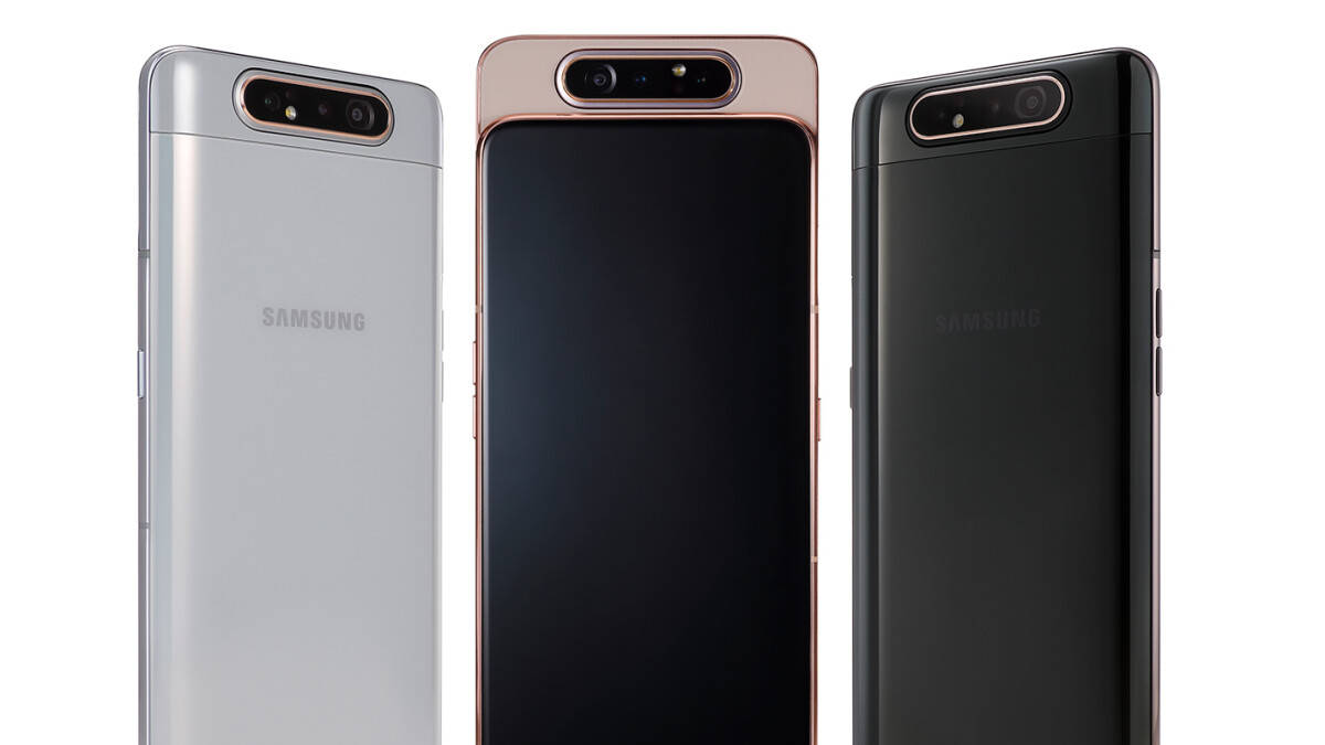 Samsung pops out the 'New Infinity' Galaxy A80 and pops up its rotating tri-camera