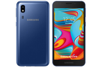 Samsung Galaxy A2 Core goes on sale as the company's cheapest Android smartphone