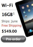 Shipping dates for the international iPads are delayed again