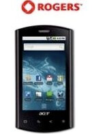 Rogers opens the gate and releases the Acer Liquid e