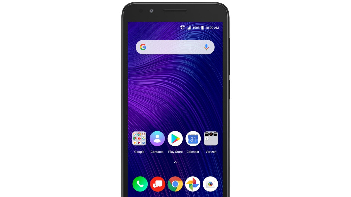 Verizon's most affordable postpaid phone right now comes from Alcatel