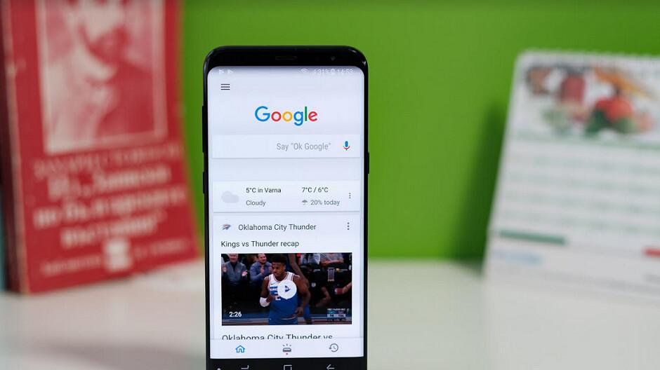 Google gibt europäischen Android-Nutzern einige Bildschirme, die in den Bundesstaaten nicht zu sehen sind