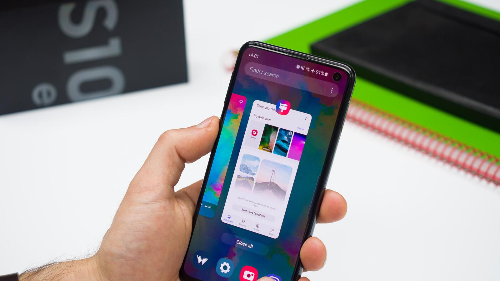 So erhalten Sie iPhone-Gesten auf dem Samsung Galaxy S10