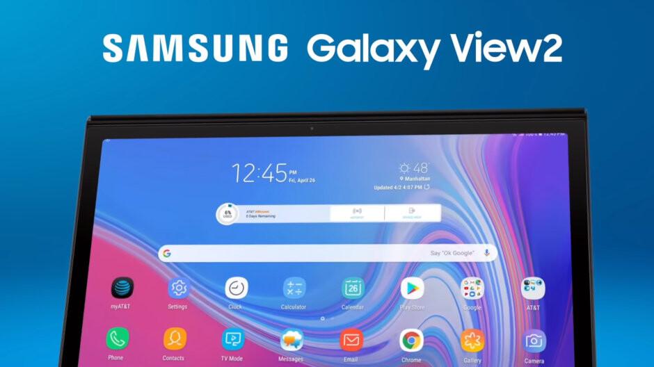 AT&T reveals the gargantuan Samsung Galaxy View 2 tablet