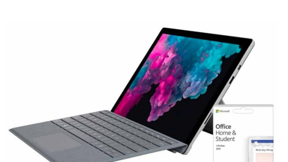 Microsoft's 2017 Surface Pro is on sale at a big discount bundled with Office and a keyboard