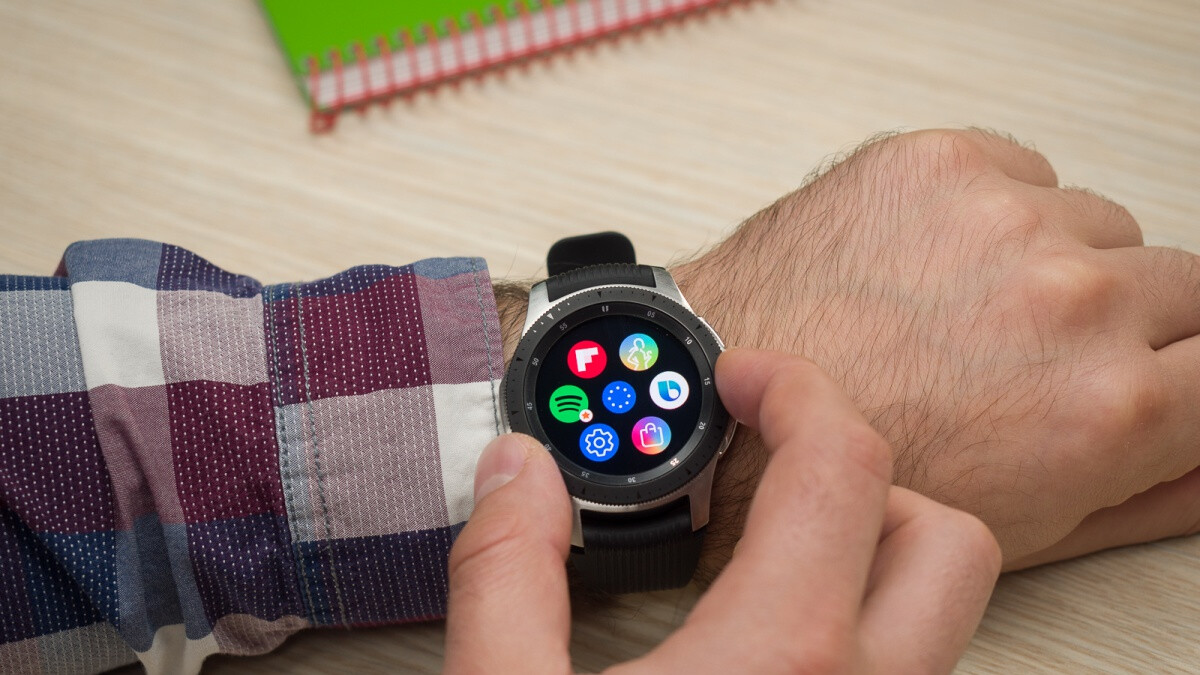 Silver Samsung Galaxy Watch with warranty goes down to $200 price after $150 discount