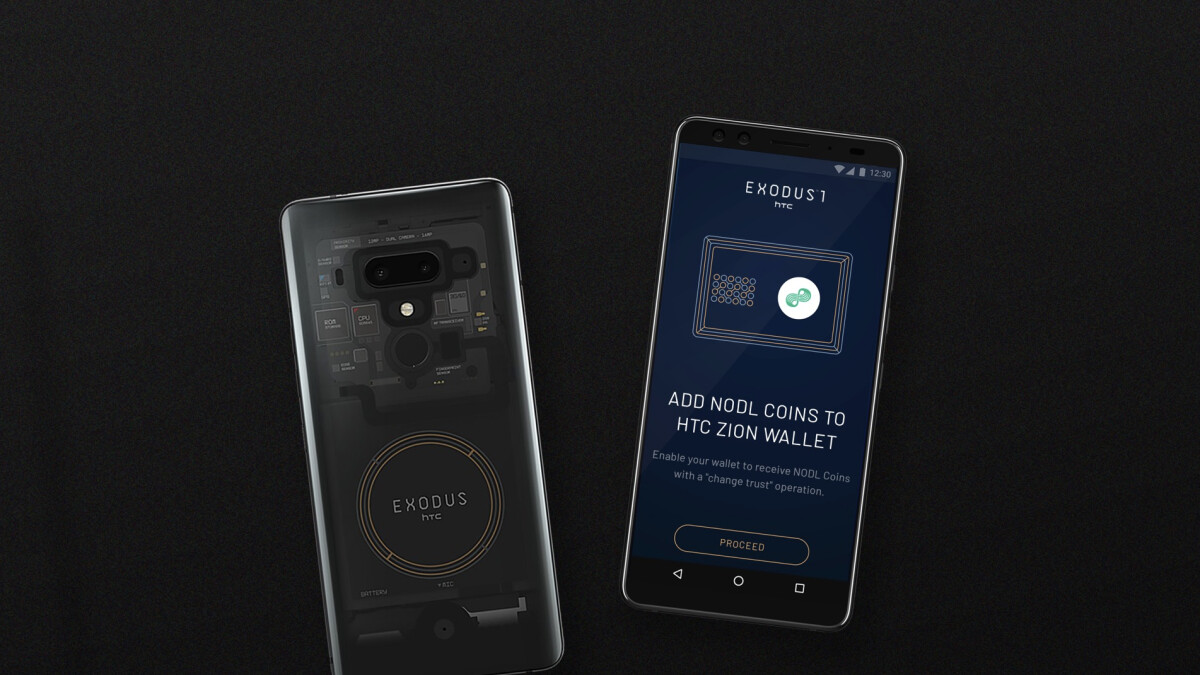 The HTC Exodus 1 blockchain phone is getting a second generation