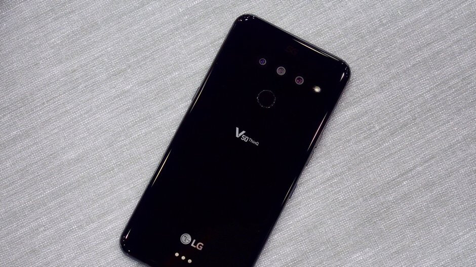 LG hopes the V50 ThinQ 5G will 'create momentum' after another bad quarter for its mobile business