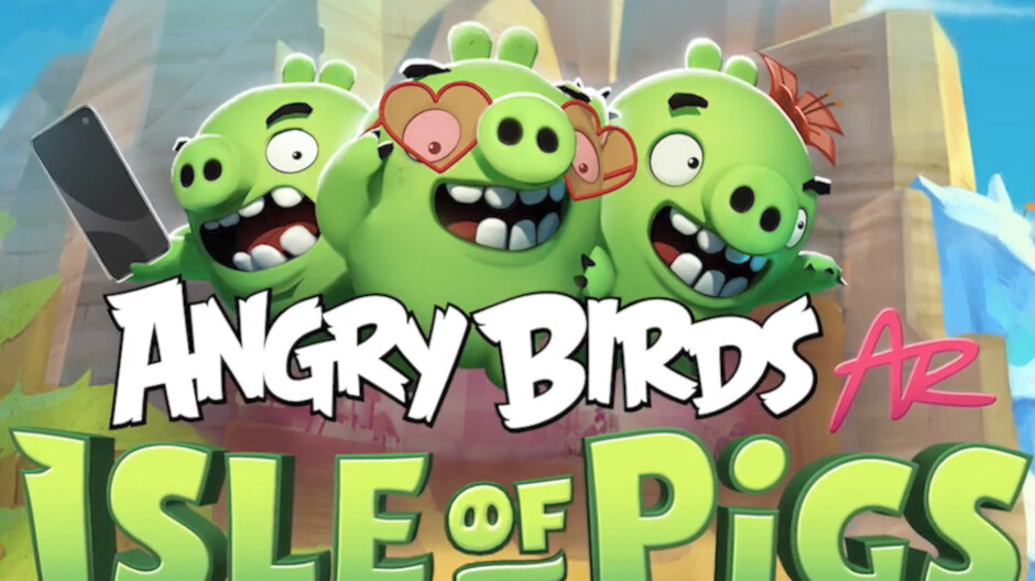 Angry Birds augmented reality mobile game launched as Apple prime exclusive