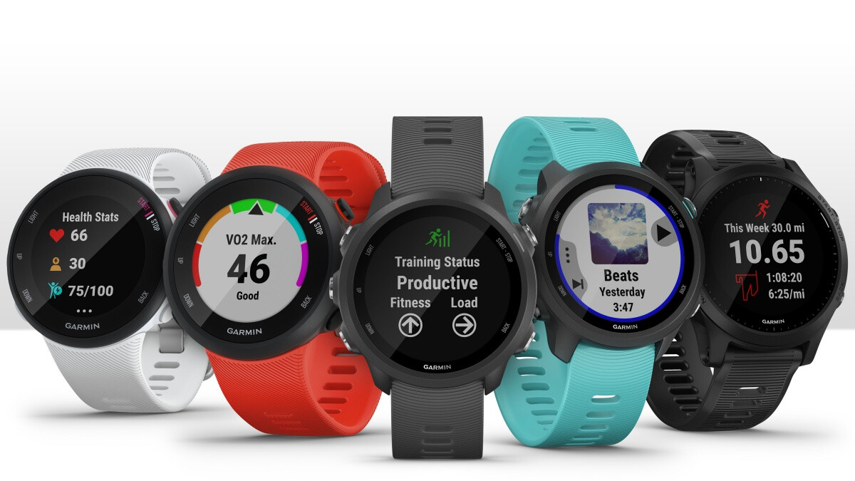 Garmin expands forerunner line of gps running watches with five new models for every budget for Watches with gps