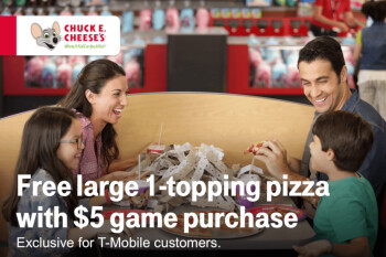 Next Tuesday, T-Mobile subscribers get free pizza to go with their tacos and coffee