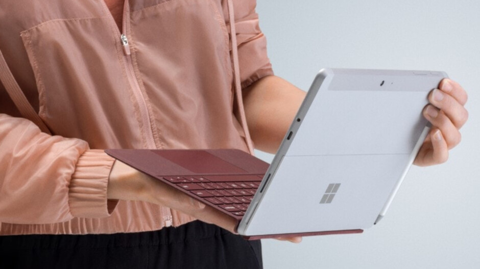 Save over $100 or 20% on a Microsoft Surface Go tablet