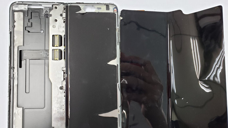 Here's why the Galaxy Fold display was inviting you to peel it off