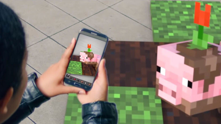 Microsoft teases Minecraft AR game for smartphones, full reveal coming this month
