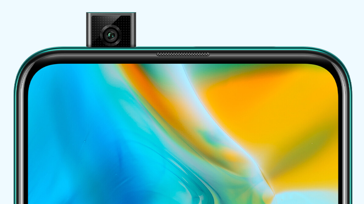 Huawei's first phone with a pop-out camera is now official