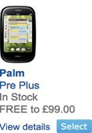Palm Pre Plus & Pixi Plus touches down onto O2 UK's lineup