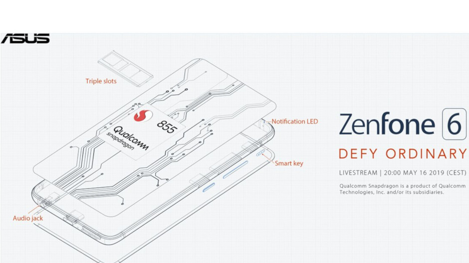 Asus reveals powerful specs for upcoming Zenfone 6 flagship, including massive battery