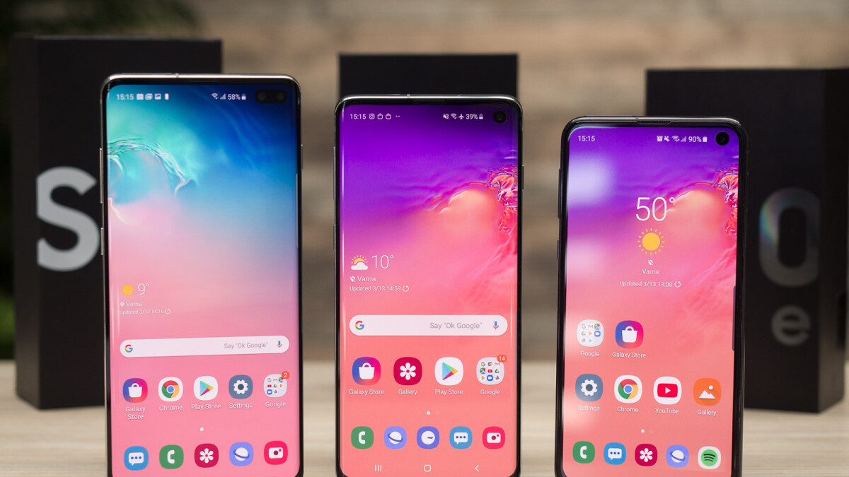 Deal: Grab a new Samsung Galaxy S10 series phone for as low as $575 on eBay