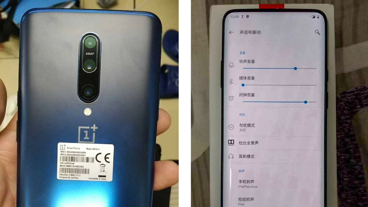OnePlus 7 Pro hands-on photos leak leaving nothing to the imagination