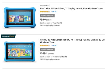Amazon's popular Fire 7, HD 8, and HD 10 Kids Edition tablets are on sale for up to $50 off