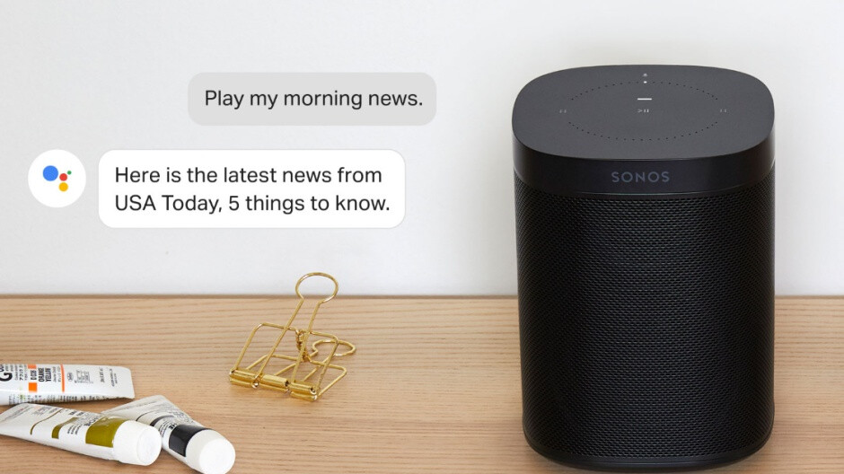 Free software update finally adds Google Assistant support to a pair of Sonos speakers