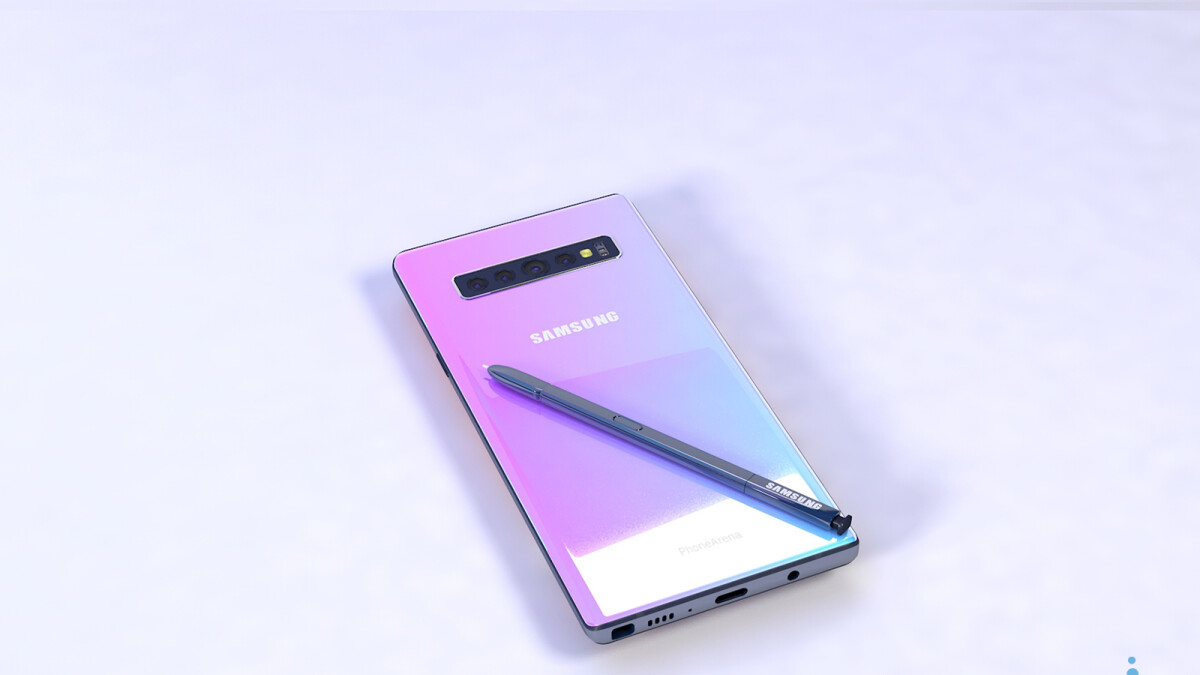 The Galaxy Note 10 could be sold in these six colors
