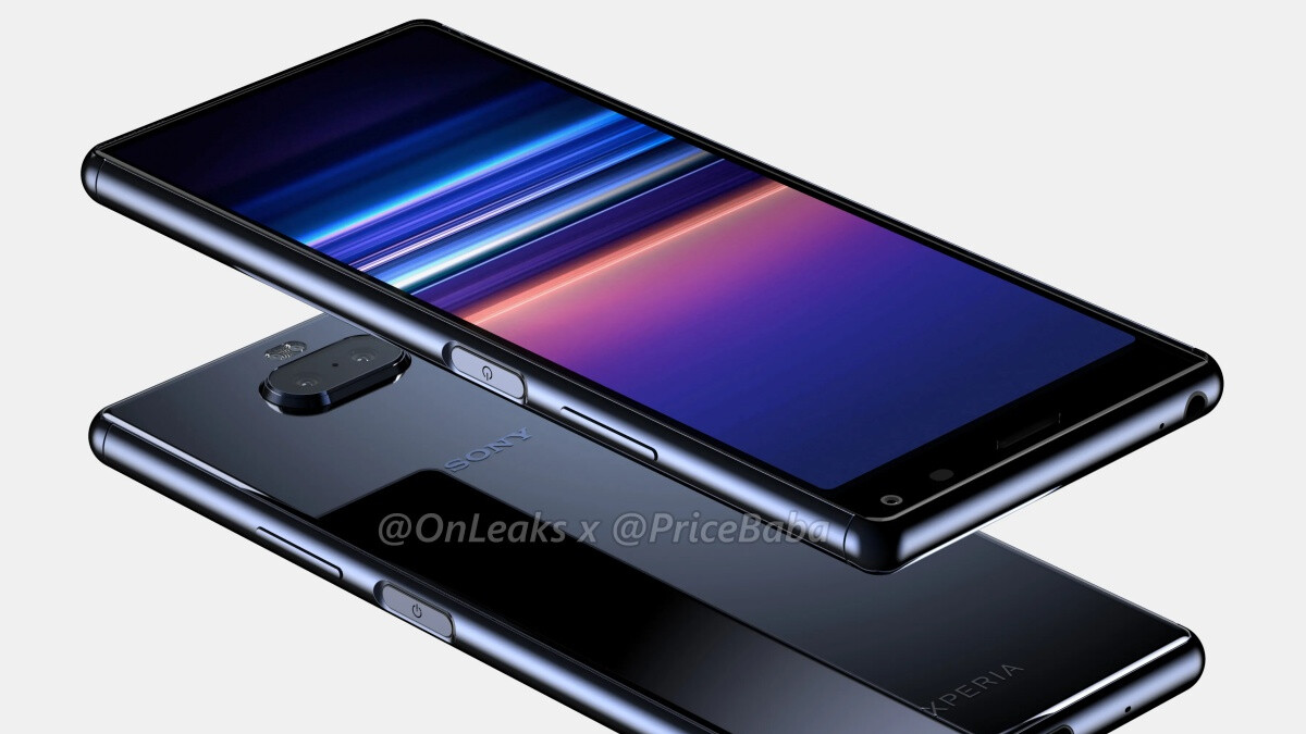 Tall and mysterious, the Sony Xperia 20 leaks in high-quality renders