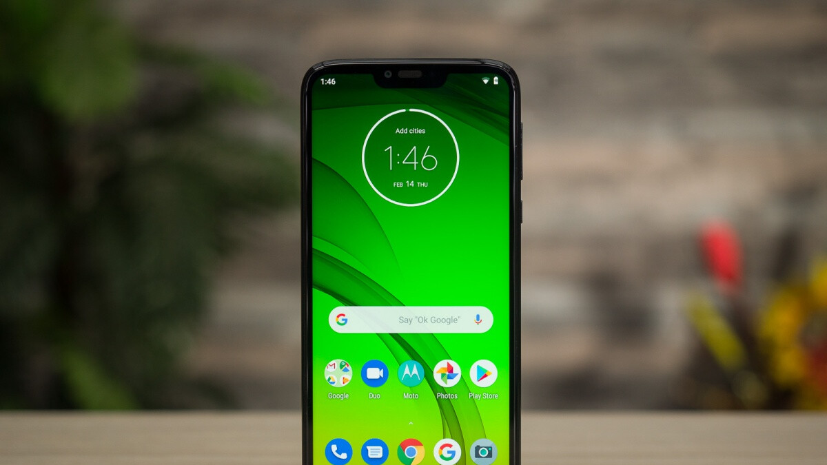 Verizon has the big-battery Moto G7 Power on sale at a 50 percent discount
