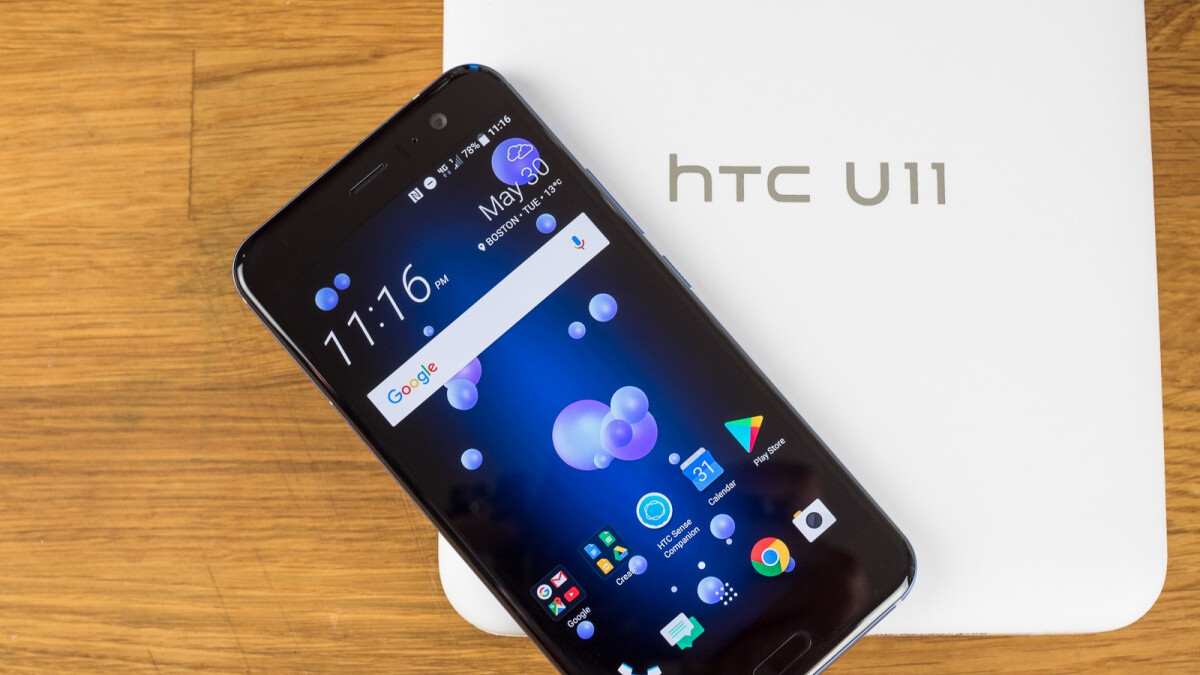 HTC U11 receives tardy Android Pie update as promised, at least in one region