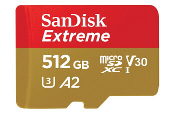 Several SanDisk microSD cards and other storage products are on sale at record low prices