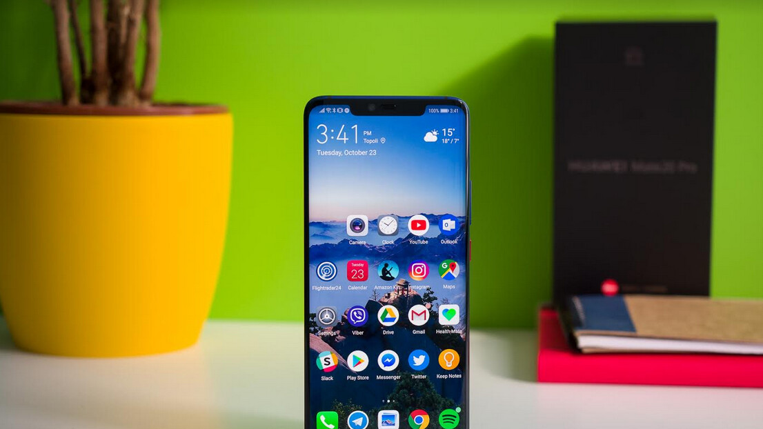 Huawei Mate 20 Pro reinstated to the Android Q beta program