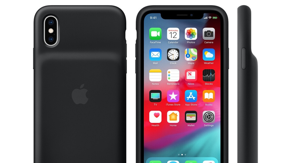 If you're looking for an iPhone XS or XR Smart Battery Case, you shouldn't get it from Apple
