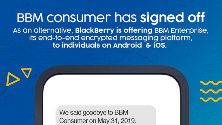 PSA: Consumer version of BBM closes today; get one year of BBMe for free