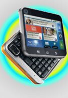 Motorola FLIPOUT is officially announced packing Android 2.1 & enhanced MOTOBLUR