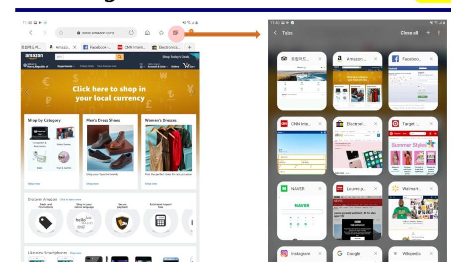 Samsung Internet Browser update introduces major UI changes